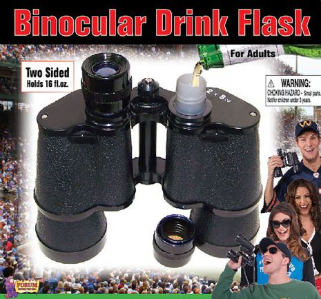 Binocular Flask Trick False Safe Gift Gadget Gift